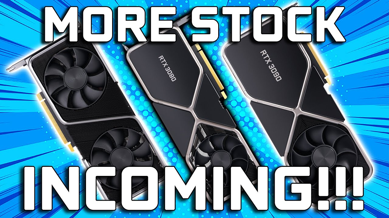 Download Nvidia RTX 3060 Ti, 3070, & 3080 Stock Update - How To Buy