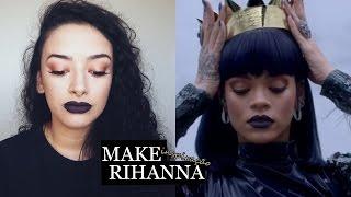 Inspiração: Make Rihanna
