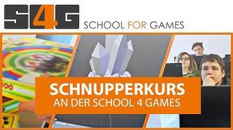 Unser Schnupperkurs an der School for Games