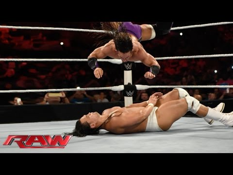 Neville vs. Bo Dallas: Raw, June 1, 2015