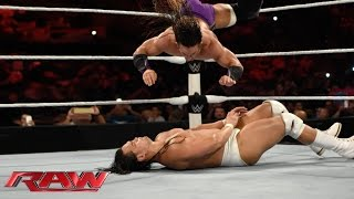 Neville vs. Bo Dallas: Raw, June 1, 2015