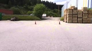 Rennkartslalom - 2Takt power vom Feinsten - Swiss Hutless 125ccm