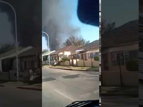 Cason Road fire