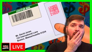 #BANNEDAGAIN! I Got Another Certified Letter From A Casino! I Open It Live W/ SDMom & Casino Play!