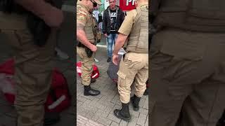Duas pessoas são presas por agressão no Centro