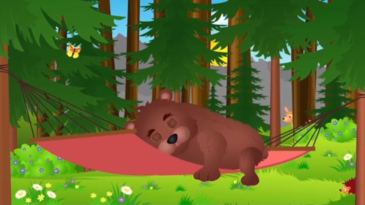 Stary niedźwiedź mocno śpi - Piosenki dla dzieci