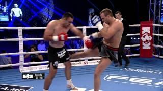 Quarter final fight +93kg Sebastian Ciobanu (Romania) vs Julius Mocka (Lithuania)