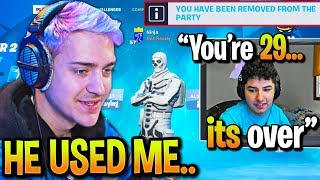 Ninja *GOES OFF* on REVERSE2K after Getting DROPPED for YOUNGER PLAYERS!