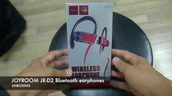 JOYROOM JR-D2  Bluetooth Earphones Unboxing