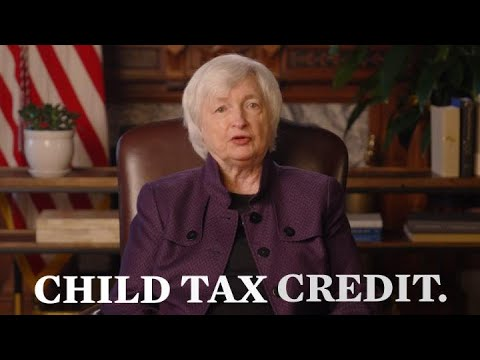 Families Are Receiving A Child Tax Credit. Janet Yellen Says It ...