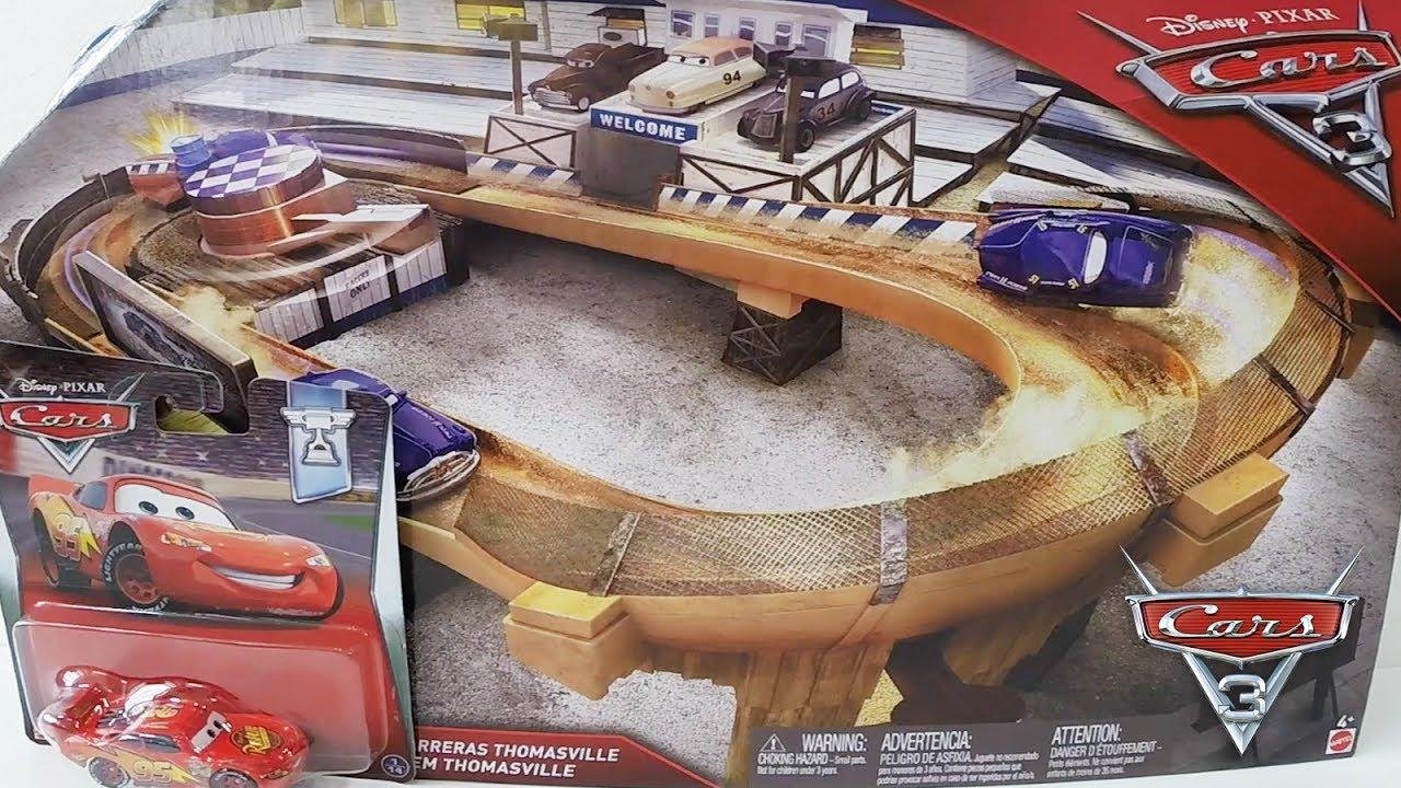 Brinquedo Cars 3 Pista De Corrida Em Thomasville Disney