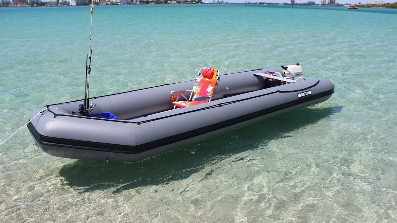 What happens when you buy a Saturn inflatable boat