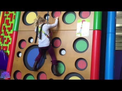 Fun Indoor playgrounds for Kids Indoor Trampoline Park Kids & Children Play Center W/ Princess Ella