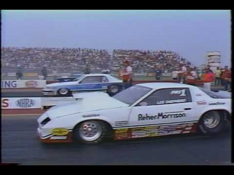 Drag Racing 1983 NHRA US Nationals PRO STOCK Final Round Eliminations