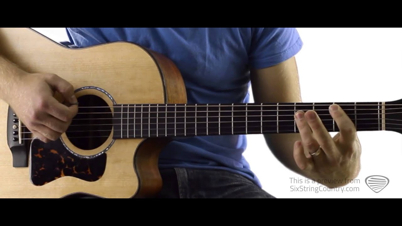 My Maria Guitar Lesson And Tutorial Brooks And Dunn Youtube