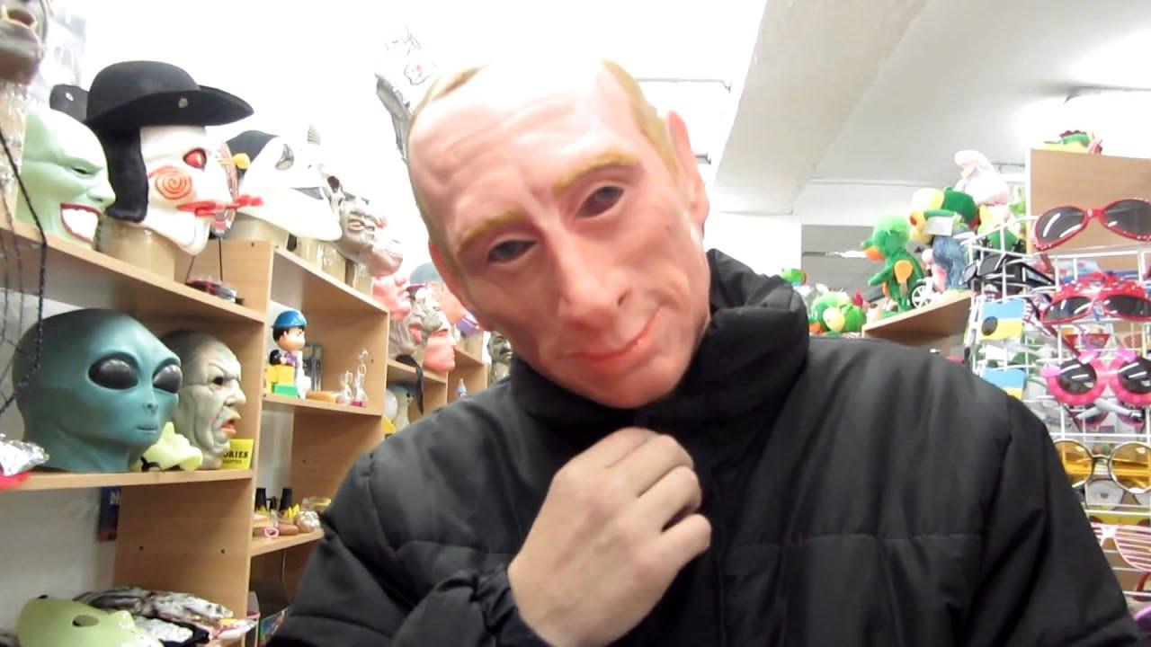 Четырех человек, гулявших в масках Путина, задержали в Москве - Цензор.НЕТ 155