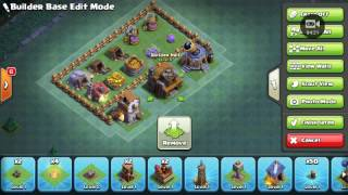 Clash of clans gameplay 3 my brother inturps my video