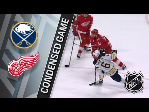 02/22/18 Condensed Game: Sabres @ Red Wings