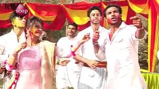 Holi Celebration on Set Sath Nibhana Sathiya