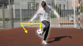 "КАК СДЕЛАТЬ ФИНТ ""НИ АККА"" и ""ИЗИ АККА""! ОБУЧЕНИЕ |  Football Skills Tutorial KNEE AKKA & ISSY AKKA"