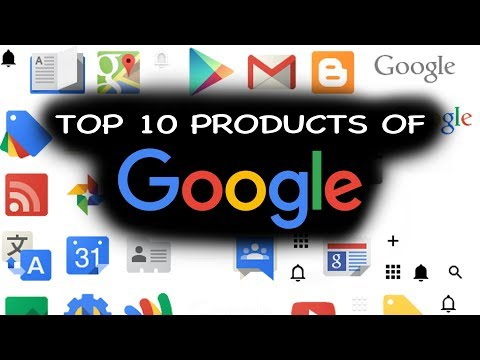 Top 10 Google Products Of 2018 | Popular And Best Of Google