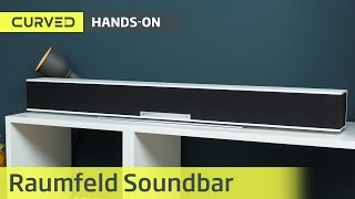Raumfeld Soundbar im Test | deutsch