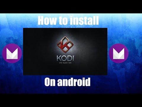 Install Kodi 17 On Android 6.0.1