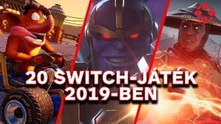 20 játék, amivel játszhatsz Nintendo Switchen 2019-ben
