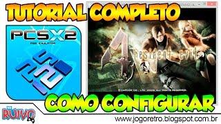 Como configurar o PCSX2 1.3.1 ou 1.4.0 / Emulador de Playstation 2 para PC - TUTORIAL COMPLETO