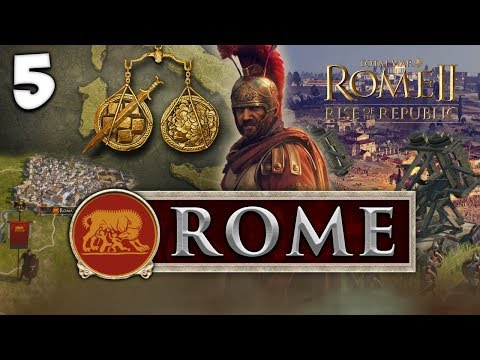 THE CONQUEST OF LATIUM! Total War: Rome II - Rise of the Rep
