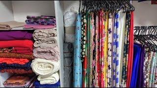 Как я храню кучу ткани? Уборка уже два дня в мастерской