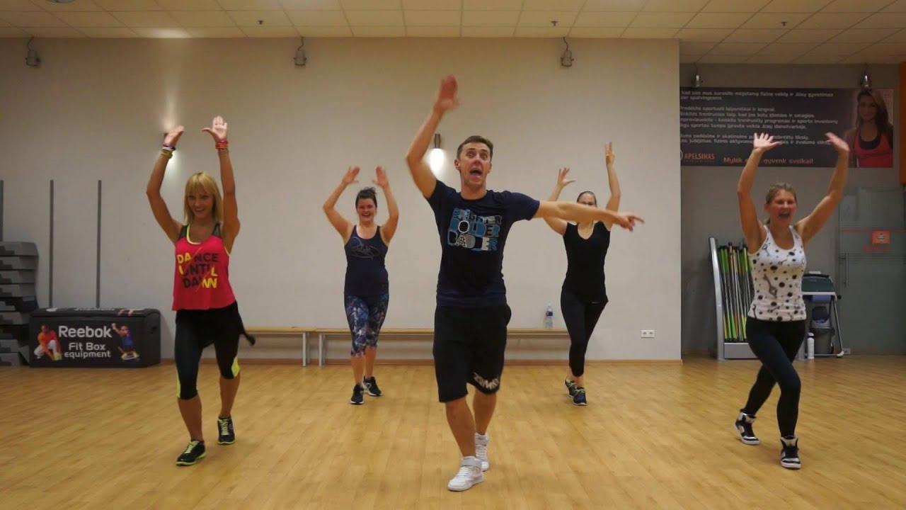 Zumba fitness - Prende el Party - Salsa choke from Mega Mix 49