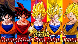 Komplettes Son Goku Team! ;D Kann das gut gehen? ^^ | Dragon Ball Legends Deutsch