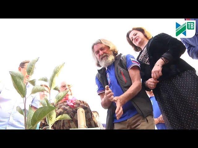 День города Ивантеевки. Закладка яблоневого сада и визит путешественника Ф. Конюхова