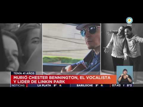 Se suicidó Chester Bennington, vocalista de Linkin Park
