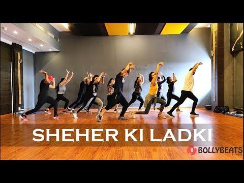 Sheher Ki Ladki | CurlyGrooves | BollyBeats Fitness Choreography Ft. Rohit Saud