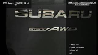 2014 Subaru Outback 4dr Wgn H6 Auto 3.6R Limited