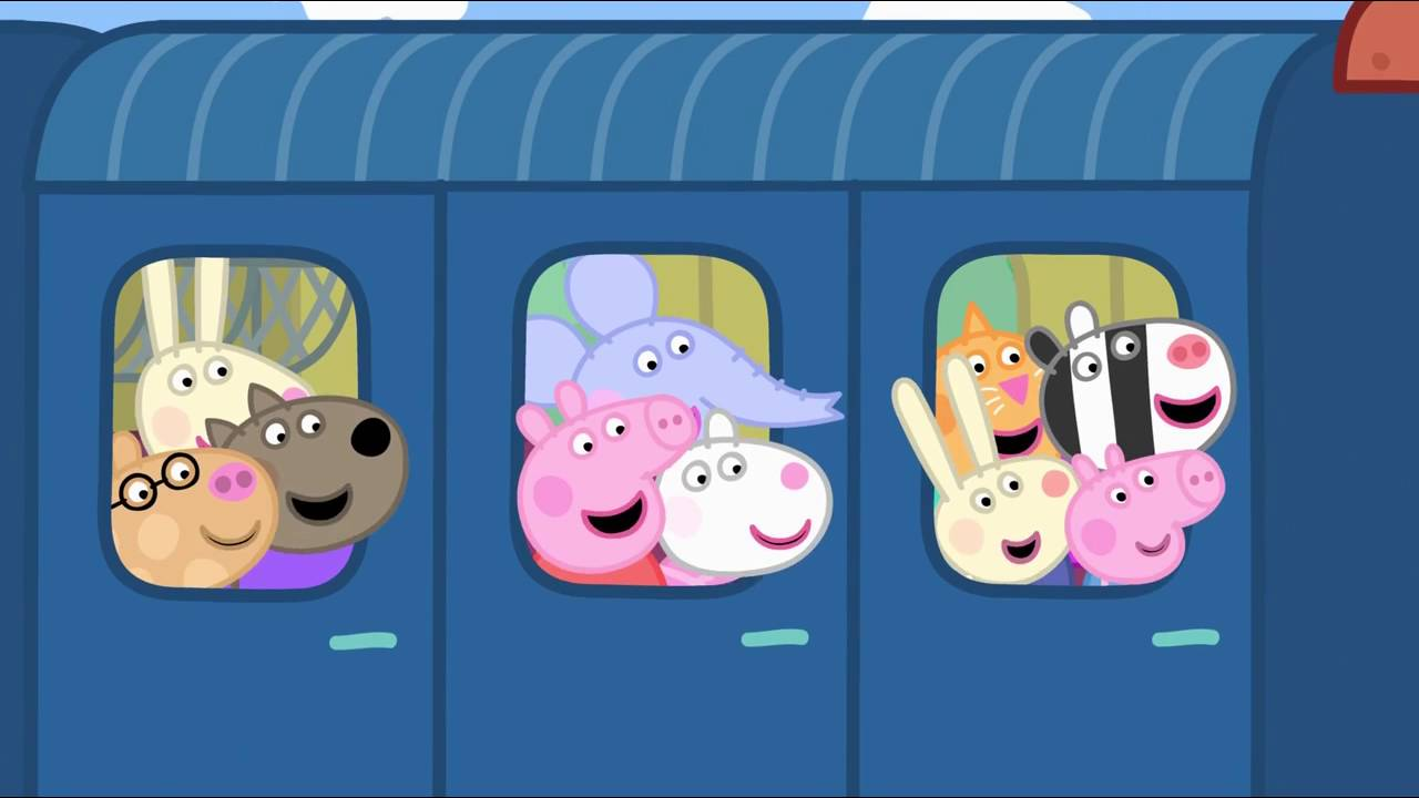 Peppa Pig - The Train Ride (18 episode / 3 season) [HD]