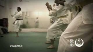 KIME.PL // trening Karate Fudokan - Dariusz Bajkowski / Warszawa / Bemowo, Wola, Żoliborz, Włochy