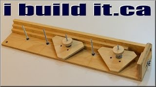 Making A Taper Jig For The Table Saw
