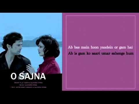 O Sajna   Full Song With Lyrics   Table No 21