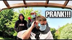 PRANK! JE LUI FAIT UN TROU DERRIERE LA TÊTE!!! 😓 (Episode 3 vlog deconfinement)