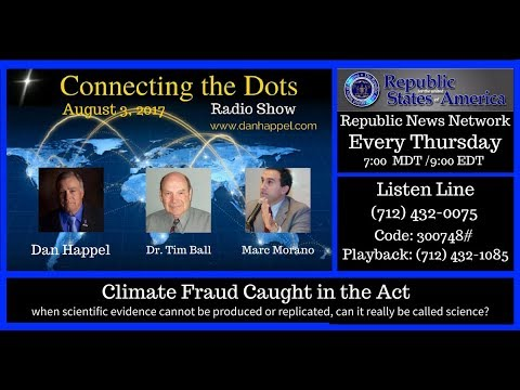 Climate Fraud Caught in the Act