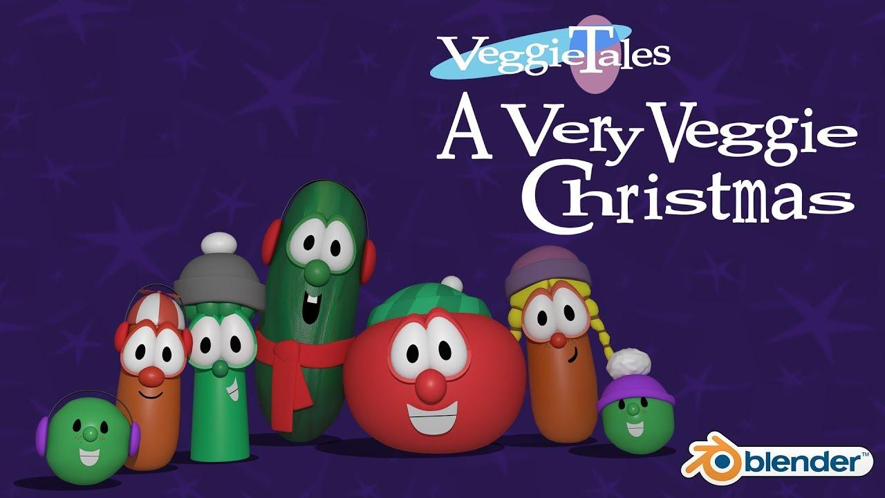 A Very Veggie Christmas.Veggietales A Very Veggie Christmas 1996 Animated Version