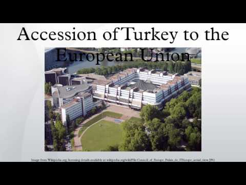 Accession of Turkey to the European Union