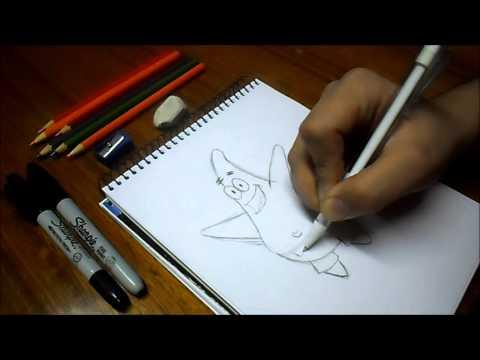 Dibujando a Patricio / Bob Esponja