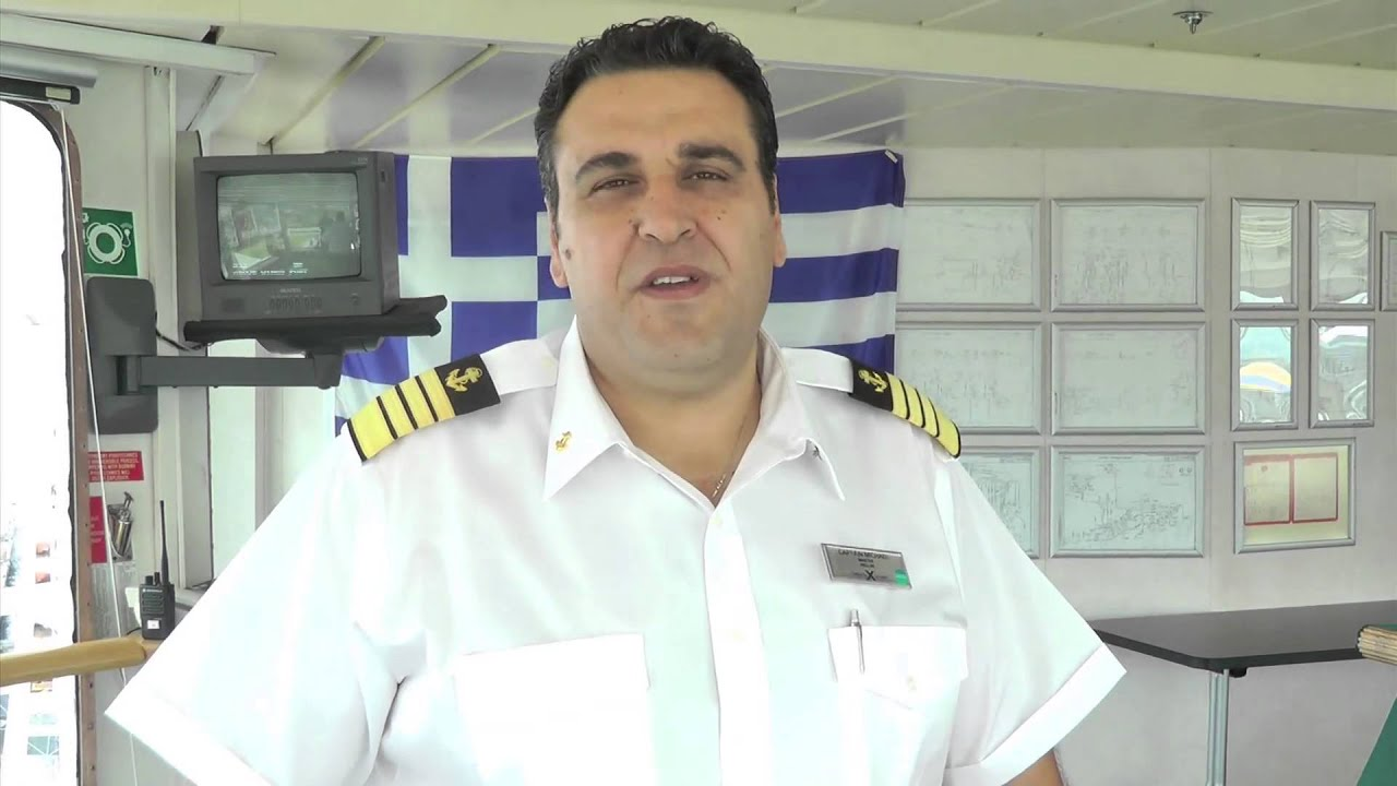 Celebrity Infinity captain - YouTube