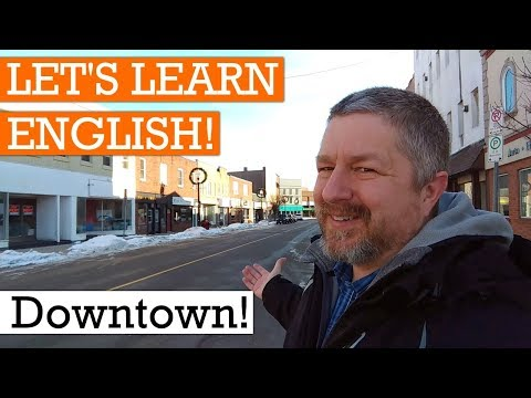 Let's Learn English Downtown!
