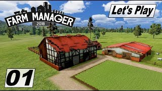 Farm Manager 2018 #01 Der Hof wurde vom Hurricane stark beschädigt #Karriere Modus #LetsPlay