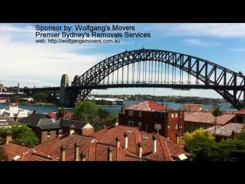 Sydney Skyline - day time video of sydney harbor bridge and opera house